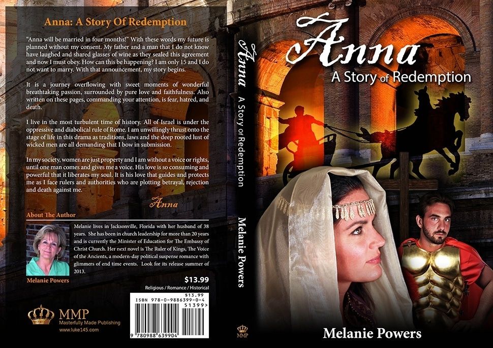 Anna A Story Of Redemption by Melanie Powers