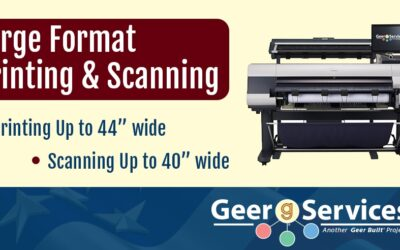 Large Format Printing and Scanning