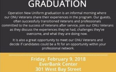 Operation New Uniform Cohort 23 Graduation Hosted By EverBank