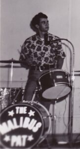 Pat Geer Drumming With The Malibus In The 1960s