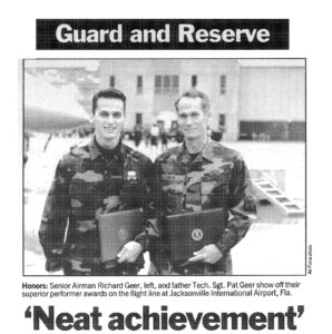 Pat and Richard Geer are both Air Force Veterans