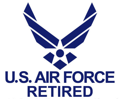 Pat and Richard Geer are both U.S. Air Force retired