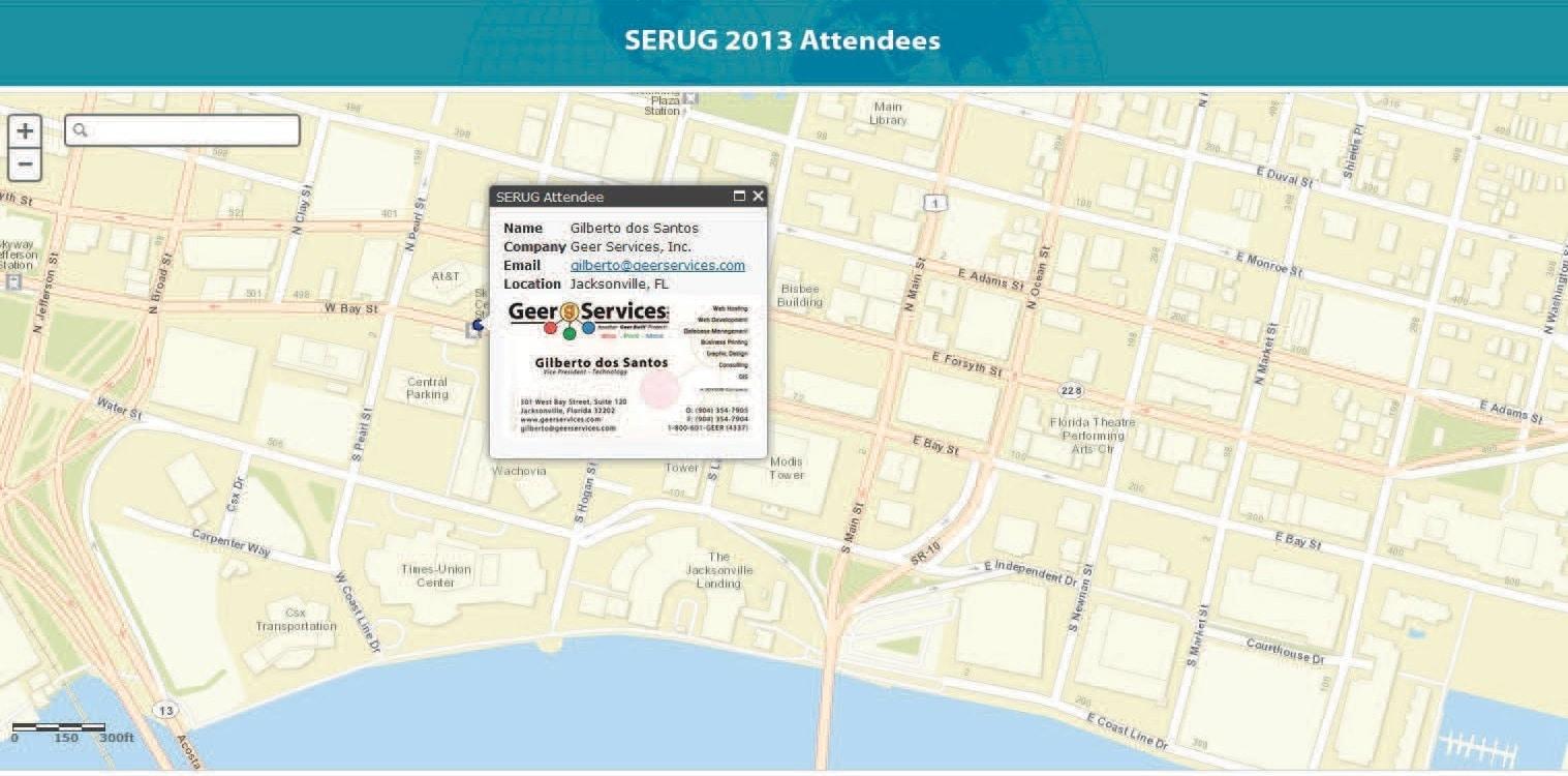 SERUG-2013-Attendee-Map