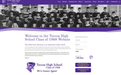 Toccoah High School 1968 Class Reunion