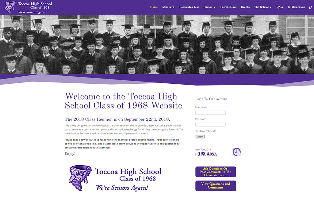 Toccoah High School 1968 Class Reunion